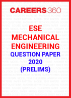 ESE Mechanical Engineering Question Paper 2020 (Prelims)