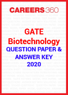 GATE Biotechnology 2020 Question Paper & Answer Key