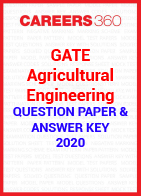 GATE Agricultural Engineering 2020 Question Paper & Answer Key