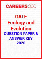 GATE Ecology and Evolution 2020 Question Paper & Answer Key