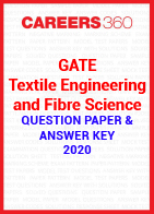 GATE Textile Engineering and Fibre Science 2020 Question Paper & Answer Key