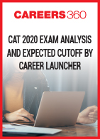 CAT 2020 Exam Analysis and Expected Cutoff by Career Launcher