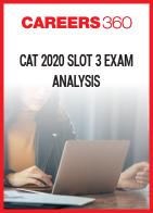 CAT 2020 Slot 3 Exam Analysis