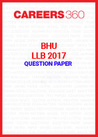 BHU LLB 2017 Question Paper