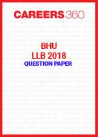 BHU LLB 2018 Question Paper