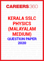 Kerala SSLC Physics (Malayalam Medium) Question Paper 2020