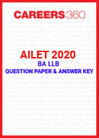 AILET 2020 Question Paper (BA LLB)