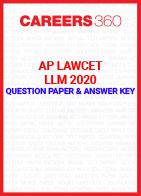 AP LAWCET 2020 LLM Question Paper and Answer Key