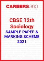 CBSE 12th Class Sociology Solved Sample Paper 2021