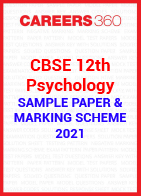 CBSE 12th Class Psychology Solved Sample Paper 2021