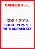 CDS 01 2018 Question Paper With Answer Key