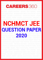 NCHMCT JEE 2020 question paper