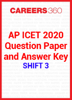 AP ICET 2020 Question Paper and Answer Key- Shift 3