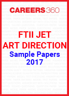 FTII JET Sample Papers Art Direction 2017