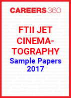 FTII JET Sample Papers Cinematography 2017