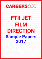 FTII JET Sample Papers Film Direction 2017