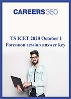TS ICET 2020 October 1 Forenoon session answer key