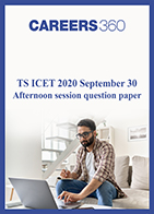 TS ICET 2020 September 30 Afternoon session question paper