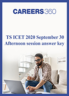 TS ICET 2020 September 30 Afternoon session answer key