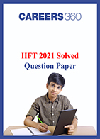 IIFT 2021 Solved Question Paper