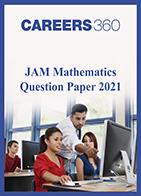 JAM Mathematics Question Paper 2021