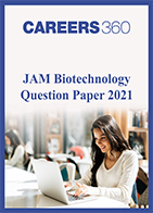JAM Biotechnology Question Paper 2021