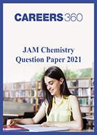 JAM Chemistry Question Paper 2021