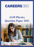 JAM Physics Question Paper 2021