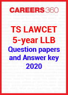TS LAWCET 5-year LLB 2020 Question Paper and Answer Key