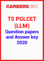 TS PGLCET (LLM) 2020 Question Paper and Answer Key