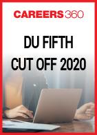 DU Fifth Cut Off 2020