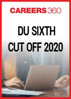 DU Sixth Cut Off 2020