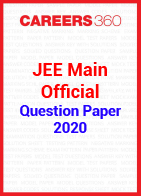 JEE Main 2020 Official Question Papers and Answer Keys