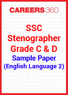 SSC Stenographer Grade C & D Sample Paper (English Language 2)