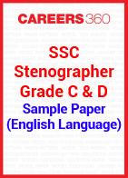 SSC Stenographer Grade C & D Sample Paper (English Language)