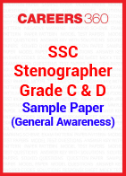 SSC Stenographer Grade C & D Sample Paper (General Awareness)