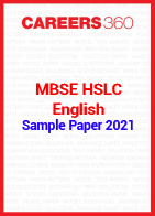 MBSE HSLC English Sample Paper 2021