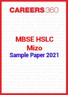 MBSE HSLC Mizo Sample Paper 2021