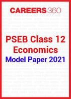 PSEB Class 12 Economics Model Paper 2021