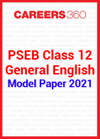PSEB Class 12 General English Model Paper 2021