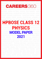HPBOSE Class 12 Physics Model Paper 2021