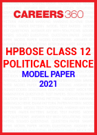 HPBOSE Class 12 Political Science Model Paper 2021