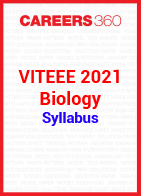 VITEEE 2021 Biology Syllabus