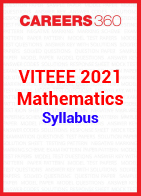 VITEEE 2021 Mathematics Syllabus