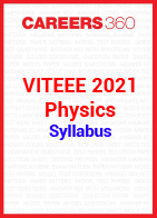 VITEEE 2021 Physics Syllabus