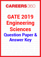 GATE 2019 Engineering Sciences Question Paper & Answer Key