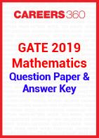 GATE 2019 Mathematics Question Paper & Answer Key