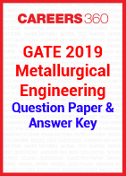 GATE 2019 Metallurgical Engineering Question Paper & Answer Key