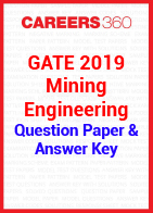 GATE 2019 Mining Engineering Question Paper & Answer Key