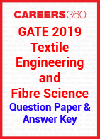 GATE 2019 Textile Engineering and Fibre Science Question Paper & Answer Key